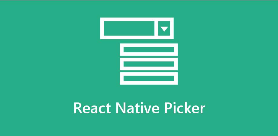 Understanding of How Picker works in React Native