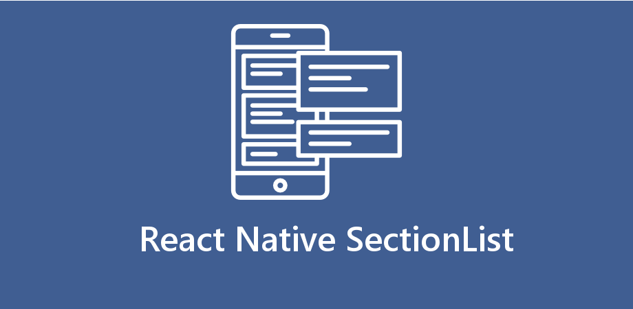 Example to make Section List in React Native