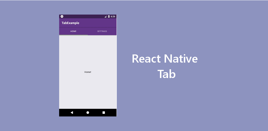 Example of React Native Tab with Latest React Navigation Version 3 +