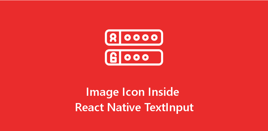 Image Icon in React Native TextInput
