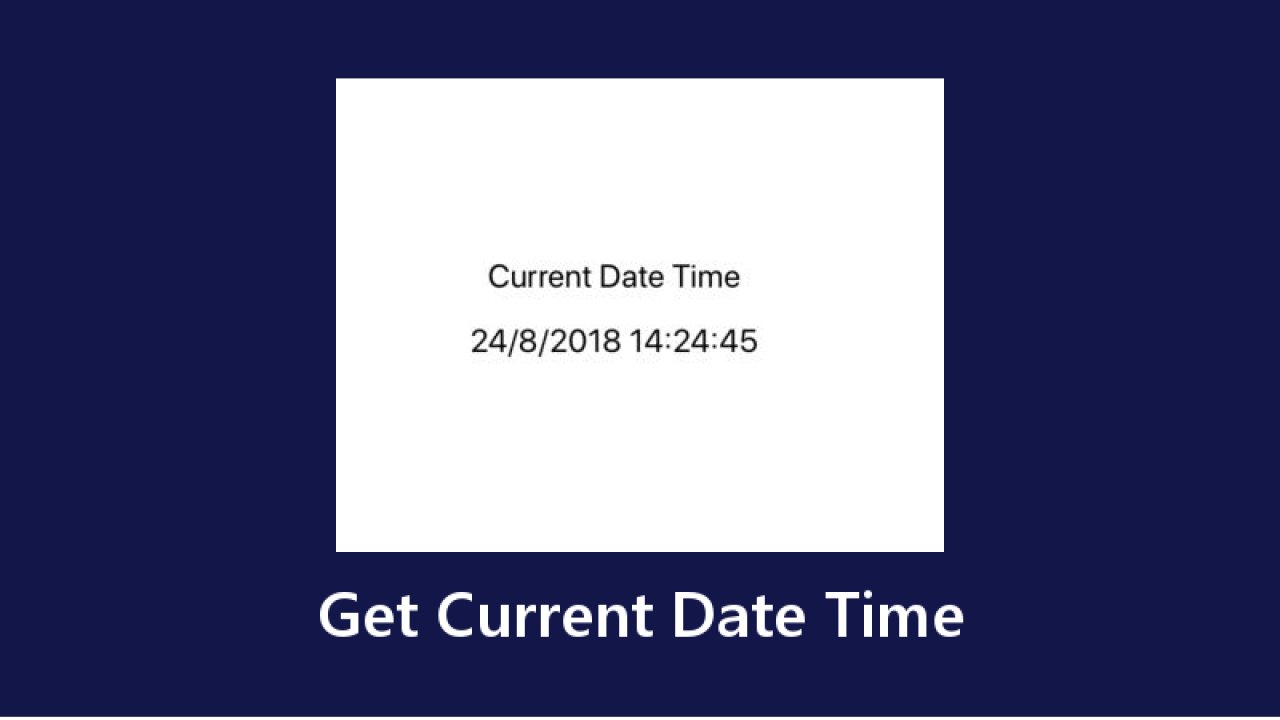 React Native Get Current Date Time - About React