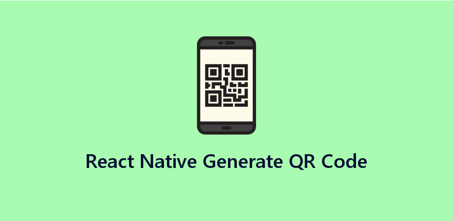 Generation of QR Code in React Native