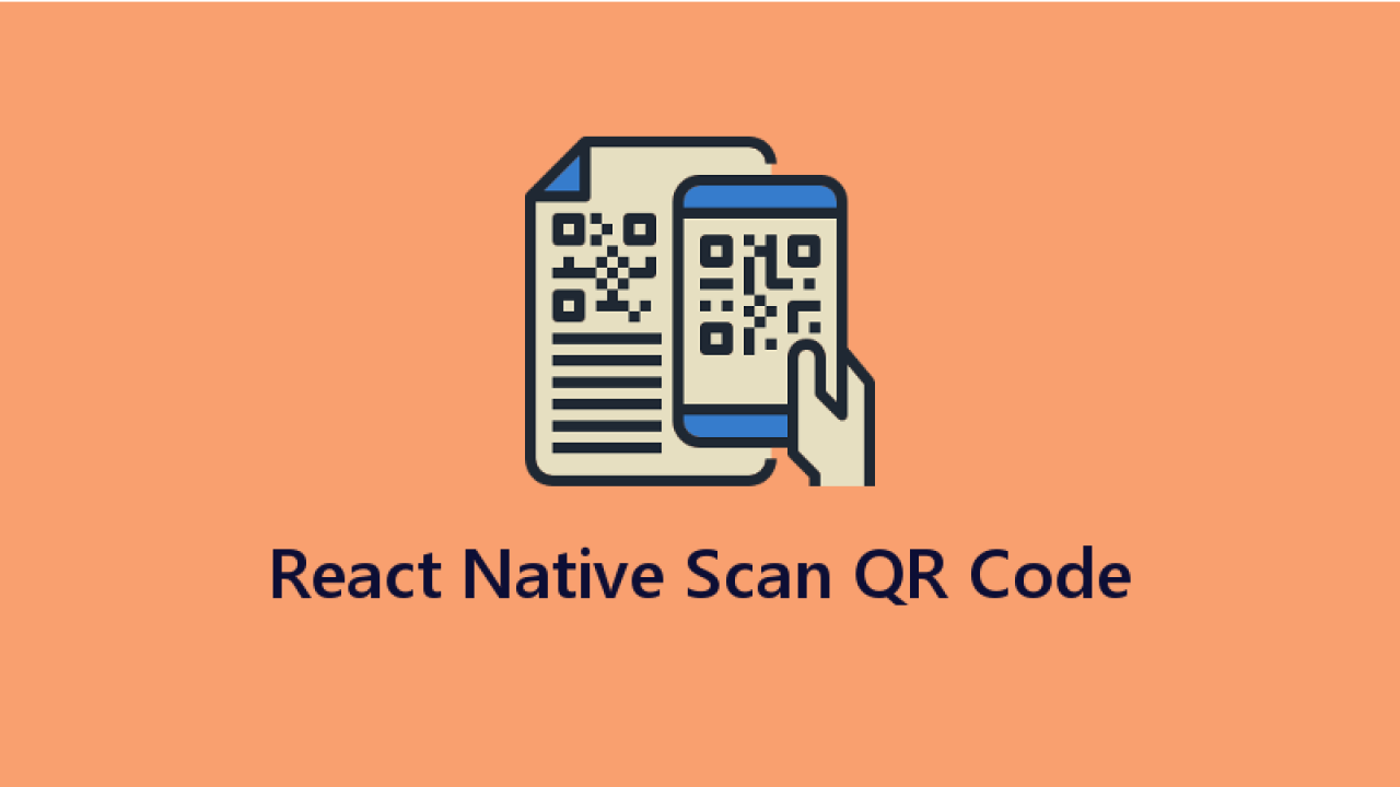 Barcode and QR Code Scanner using Camera in React Native