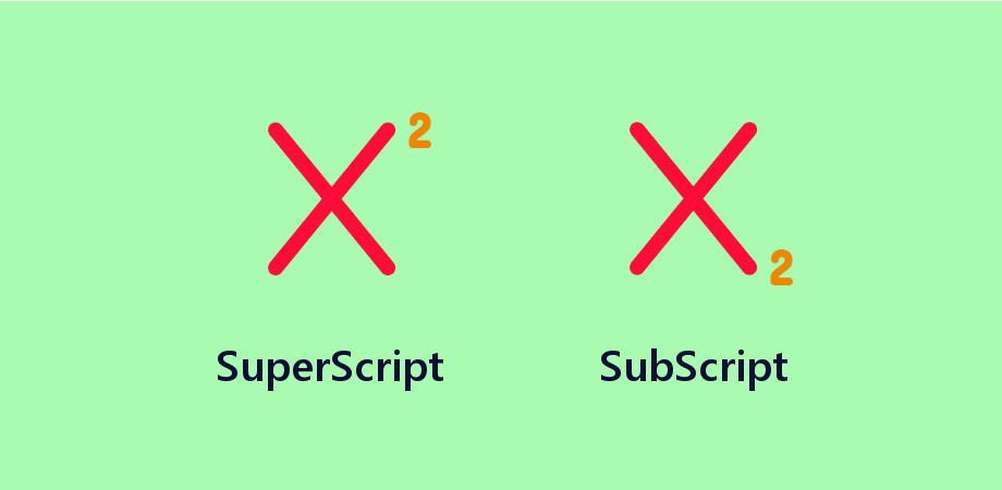 React Native Show SuperScript and SubScript
