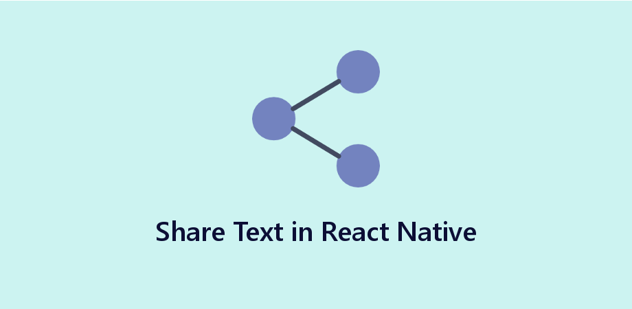 React Native Share API to Share TextInput message