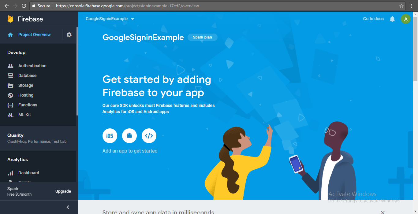 How to Integrate Firebase in React Native Android and iOS App