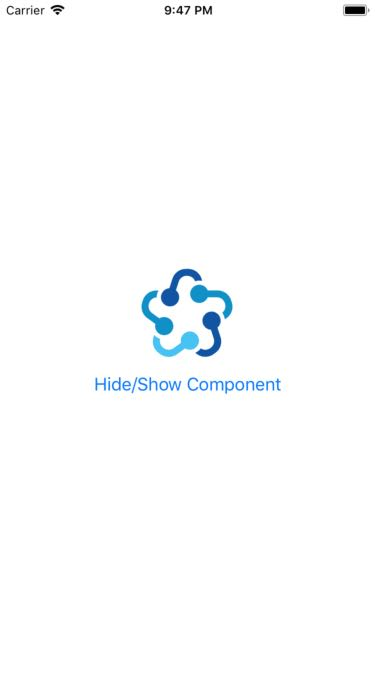 Example to Hide Show Component in React Native - About React