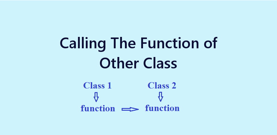 Example to Call Functions of Other Class From Current Class in React Native