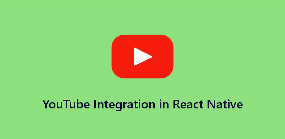 Example of YouTube Video Integration in React Native