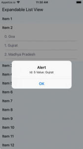 Example of Expandable List View in React Native - About React