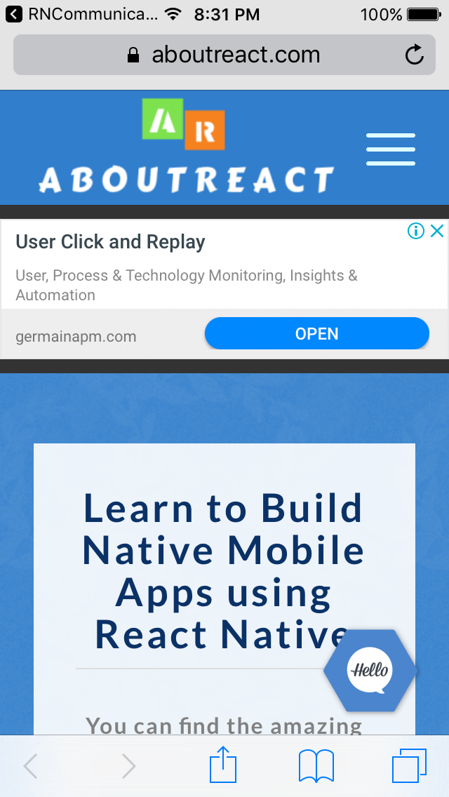 React Native Send Sms In Background