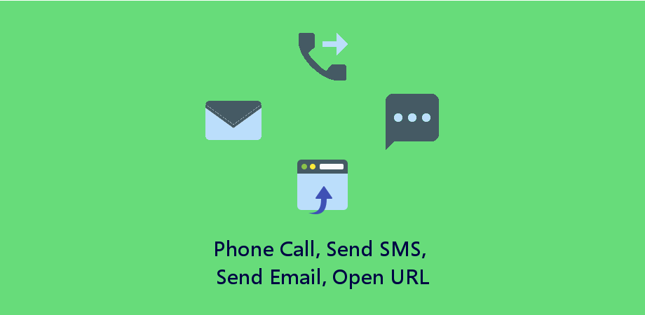 Make Phone Call, Send SMS or Email Using React Native