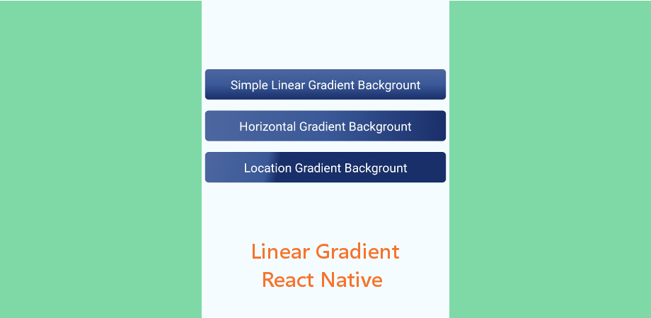 Linear Gradient Component in React Native