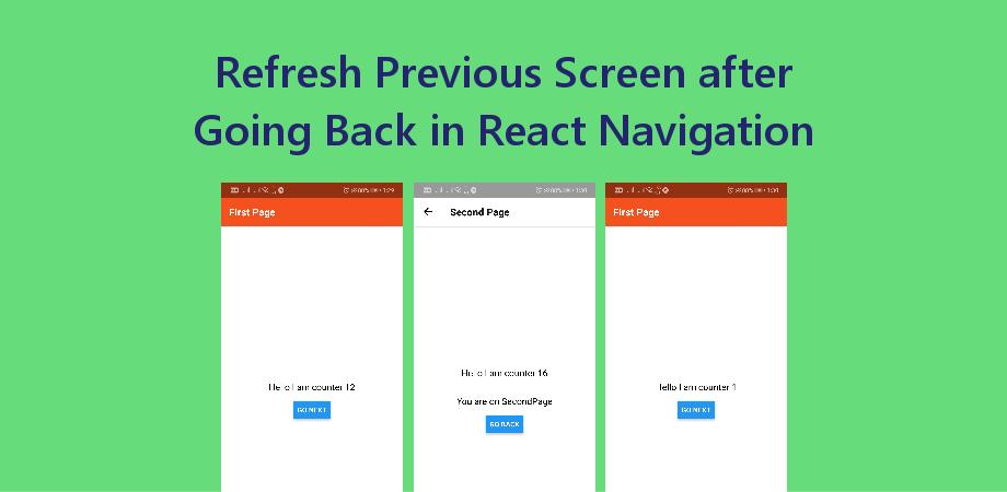React Navigation - About React