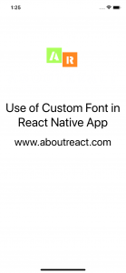 CustomFontAndroidSetup