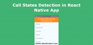 react native call detect