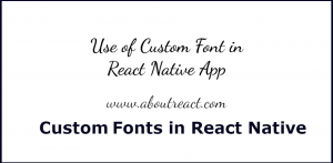react_native_custom_icon
