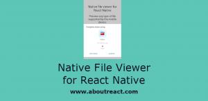 Native Filer Viewer