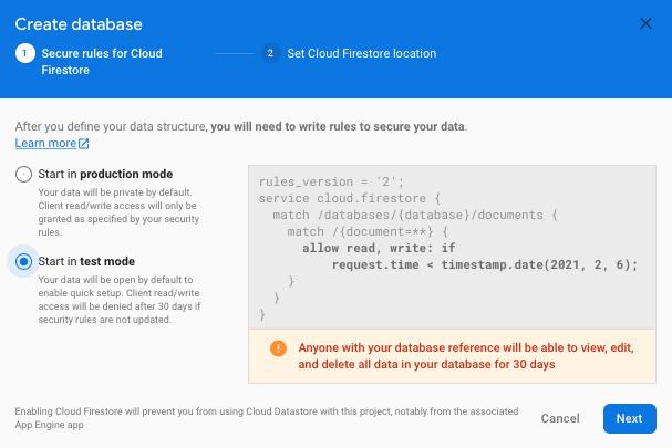 react_native_firebase_cloud_firestore_setup2